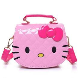 5ef3d59d7e New Cute Mini Bag Children Hello Kitty Handbag For Women Cartoon Cat PU  Waterproof Should Bag Kids Girls Fashion Messenger Bags