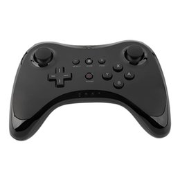 online shopping Classic Dual Analog Bluetooth Wireless Remote Controller USB U Pro Game Gaming Gamepad for for Nintendo Wii White Black Wholsale