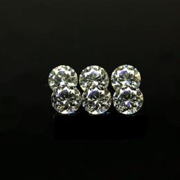 venda por atacado Barato preço tamanho pequeno 0.7mm-1.6mm 3a qualidade simulada diamante branco redondo forma cúbica zirconia solta cz pedras para jóias fazendo 1000pcs