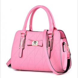 Small red bowS online shopping - new Lady bags handbag Stereotypes sweet fashion handbags Shoulder Messenger Handbag
