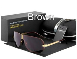 $enCountryForm.capitalKeyWord Canada - Best Brand Polarized Sunglasses for men Mercury coated anti reflection Aluminum magnesium Alloy frame Driving fishing outdoor glasses E008