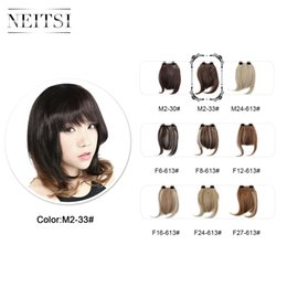 Discount extras hair extensions 2017 extras hair extensions on discount extras hair extensions neitsi women hair bangs hair extension synthetic hairpiece straight bang extra short pmusecretfo Choice Image
