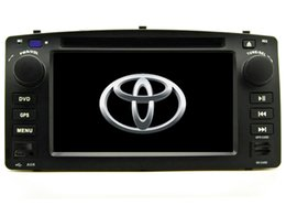 Discount special car dvd toyota corolla - new free shipping Car DVD player for Corolla E120 2003 2004 2005 2006 2007 2008 gps navigation bluetooth radio player Su