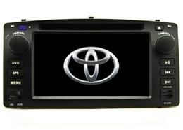 nouvelle livraison gratuite Lecteur DVD de voiture pour Corolla E120 2003 2004 2005 2006 2007 2008 lecteur GPS bluetooth radio lecteur Caméra de support