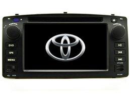novo frete grátis leitor de DVD Carro para Corolla E120 2003 2004 2005 2006 2007 2008 navegação por GPS leitor de rádio bluetooth câmera Suporte