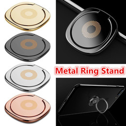 metal mobile phone holders 2019 - 360 Degree Metal Finger Ring Holder Smartphone Mobile Phone Finger Stand Holder For iPhone Samsung Tablet pc Android pho