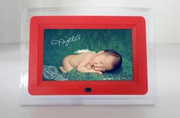 Discount electronic picture frame video hot sale 1 piece electronics photo frame picture frame with 7 inch screen size