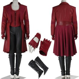 $enCountryForm.capitalKeyWord Canada - 2016 Populai Movi Marvel Captain America Guerra Civile Costume Scarlet Witch Wanda Maximoff Cosplay Costume Adult Halloween