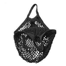 $enCountryForm.capitalKeyWord Canada - Wholesale- 2016 Eco Reusable Shopping Bags mesh Grocery Packing Recyclable Bag Hight Simple Design Healthy Tote Handbag Fashion