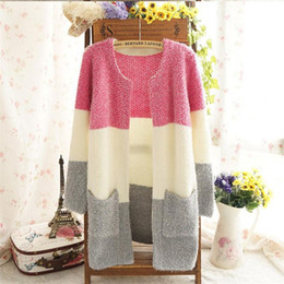 $enCountryForm.capitalKeyWord Canada - 2017 Women Sweaters Autumn Winter Casual Cardigan Fashion Knitted Solid Slim Lovely Sweaters Elegant Candy Colors Cardigans Hot Sale