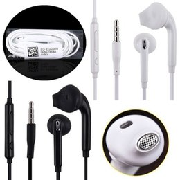 Premium headPhone online shopping - 3 mm earphones Premium Quality Stereo in ear earphone headphones headsets with mic and remote Volume Control For Samsung S7 S6 S6 Edge