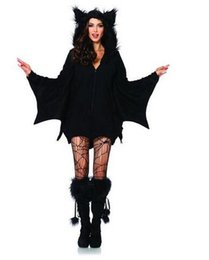 Women Costumes Angels Canada - 2016 wedding dresses halloween new dresses Women evening dresses Hisionlee Women's Cozy Bat Costume Plus-Size Halloween Cosplay Masfor party