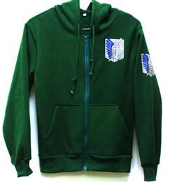 Scouting legion hoodie online shopping - Attack on Titan Shingeki no Kyojin Scouting Legion Cosplay Hoodie Coat hoodie jacket casual hoodies Sweatshirt