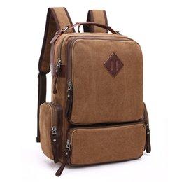 Designer Laptop Bags Women Canada - woman backpack ladies famous brand  designer handbag fashion canvas bag d7842e21d