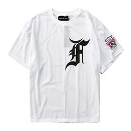Chinese  2018 Best Quality FEAR OF GOD Fifth Collection Men T-Shirt Justin Bieber Hip-Hop Mesh T Shirt FOG Oversized T Shirt manufacturers