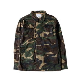 Camuflaje De La Fuerza Aérea Baratos-American high street jacket masculina otoño / invierno air force flying american coat persona mojada multicolor camouflage