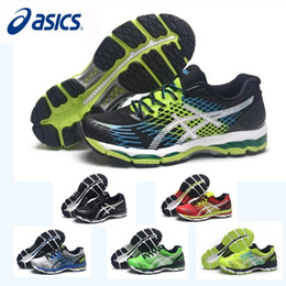 New free ruN shoes online shopping - New Asics Nimbus17 Professional Running Shoes For Men Shoes Breathable Discount Sneakers Sports Shoes Eur