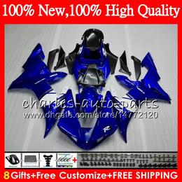 1999 yamaha r1 white fairing kit online shopping - Body For YAMAHA YZF R YZFR1 Bodywork Blue white HM YZF1000 YZF R1 YZF YZF R1000 YZF R1 Factory Fairing kit