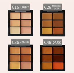 Beauty Brand contour palette online shopping - Brand Pro Concealer Cream Makeup Highlighter Contour Palette Face Beauty Cosmetic Light Medium Medium Deep Dark High Quality