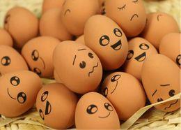 $enCountryForm.capitalKeyWord Canada - Funny face egg-shaped elastic ball \ molar bite resistant solid rubber ball dog toy
