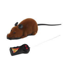 $enCountryForm.capitalKeyWord UK - 2017 Hot Sale Scary Remote Control Simulation Plush Mouse Mice Kids Toys Gift for Cat Dog 3 Colors