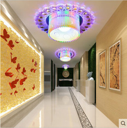 2016 New Real Lustres De Sala Crystal Led Downlight 5w Down Light Indoor Living Room Kitchen 220 230v Downlights Ce Rohs Warranty 2 Years