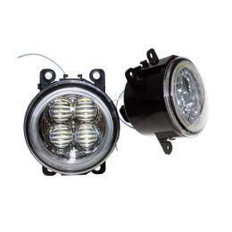 $enCountryForm.capitalKeyWord UK - For LAND ROVER FREELANDER 2 LR2 2006-2014 Car Styling Bumper Angel Eyes LED Fog Lamps DRL Daytime Running Fog Lights OCB Lens