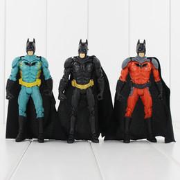 Batman Figure Wholesale Canada - Super Hero Batman 3 Styles 13.5cm PVC Action Figure Toy Collection Model toy free shipping retail