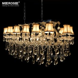 Chinese  Rectangle Crystal Chandelier Light Fixture, Flush Mount Silver chrystal Lamp lustre for Hotel, Restaurant, Living Room MD32011 manufacturers