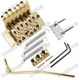$enCountryForm.capitalKeyWord Canada - new arrival left-hand Gold Electric Guitar Bridge Guitar Parts 6 Strings Bridge Musical instruments accessories
