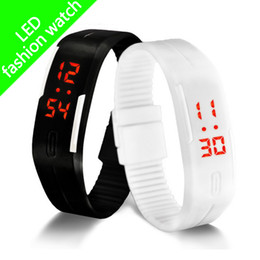 $enCountryForm.capitalKeyWord Australia - Smart Watch Wristband 2017 new sports watch led digital display touch screen watches rubber band silicone bracelet watch free shipping