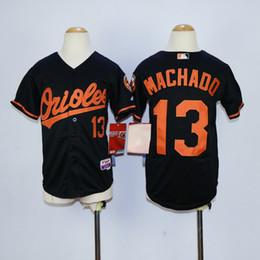 cf1900e1eec ... Cheap Kids Baltimore Orioles Jerseys Boys 13 Manny Machado Jerseys  Youth Stitched Baseball Jerseys Embroidery Logos ...