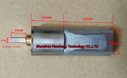 $enCountryForm.capitalKeyWord NZ - Brand new 16GA-050 micro DC gear motor 3V -24V 050 geared motor large torque for small robot~