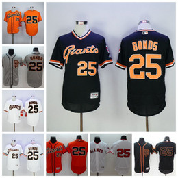 54d231893 ... New SF San Francisco Giants Jerseys 25 Barry Bonds Baseball Jerseys  1989 Retro Cool Base White ...