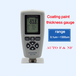 coating thickness tester NZ - Freeshipping coating paint thickness gauge AUTO tester F&NF range 0-1300um coating thickness tester