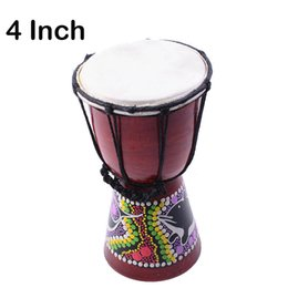 Discount hand drums - African Djembe 4 Inch Percussion Hand Drum For Sale, Wooden Jambe  Doumbek Drummer