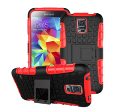 $enCountryForm.capitalKeyWord NZ - Tire Robot Hybrid Heavy Duty Rugged Shockproof Hard plastic Soft Silicone Case Skin Cover for iphone 5 5S iphone 6 6G plus