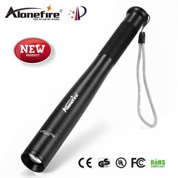 Venta al por mayor de AloneFire X970 Bate de béisbol Zoom Linterna LED 2000Lumens Súper brillante para emergencias y defensa personal