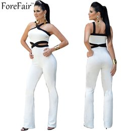 Xxl Women S Jumpsuits Australia - Wholesale-S-XXL Plus Size Jumpsuit and Rompers for Women Overalls Sexy Sleeveless Bodycon Bodysuit Combinaison Femme Elegant Jumpsuit
