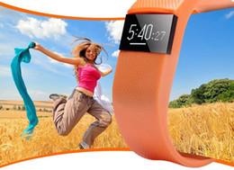 Smart watch bluetooth bangle online shopping - TW64 LED Smart Intelligent Bracelet Bluetooth Wristband Watch Bangle Waterproof Passometer Sleep Tracker Alarm Clock for Android IOS Phone