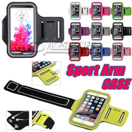 Para Iphone 11 Pro Max Sports impermeáveis ​​Correr Caso Armband Correndo Titular saco Workout pounch Phone Case para Galaxy Note 10 PLUS Arm