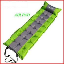 Air Camping Car Canada - Brand New Air pad Sleeping bed Moisture Mats With High Quality Memory Foam for outdoor camping 5pcs lot free shipping