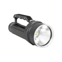 Cree Underwater Lights UK - KC Fire New Diving Flashlight Torch CREE XHP70 LED High Brightness White Light 5000 Lumens Underwater 100M Waterproof DL0059G