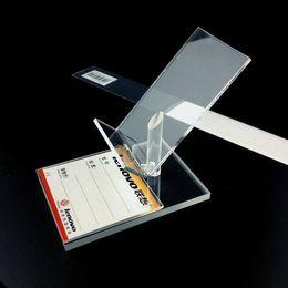 Ücretsiz Kargo Cep cep Telefonu Ekran raf gösterisi Tutucu Standı Yeni Stil Şeffaf Akrilik yüksek sandalye şekli 10 adet / paket sıcak satış