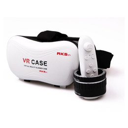 Virtual Reality Games For Android NZ - VR Case RK5th 5.0 Version Virtual Reality Glasses 3D Video Movies Games for 3.5-6 inch Smart Phone