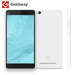 2gb mobile phone 2019 - Wholesale-Original Xiaomi Mi4c Mobile Phone 4G LTE Snapdragon808 Hexa Core 5.0 inch 1920X1080P 2GB RAM 13MP IR 16GB 32GB