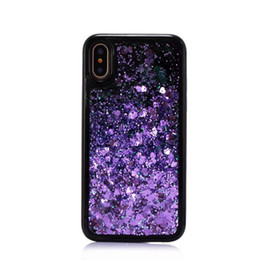 $enCountryForm.capitalKeyWord NZ - 3D Creative Bling Sparkle Liquid Quicksand Floating Flowing Glitter Design Soft TPU Cover for Apple iphone X   10 Shockproof Back Case