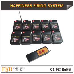 DHL / FedEx Бесплатная доставка + цифровой пульт дистанционного управления с 10 приемников + фейерверк система стрельбы + настроить разное время