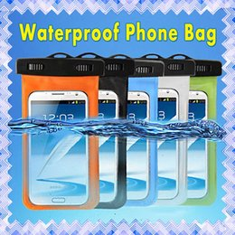 SamSung S6 waterproof online shopping - Universal Transparent Waterproof Pouch Dry Bag Case Cover For Samsung S5 S6 S7 Edge iPhone S S Plus