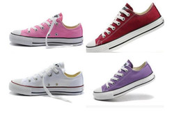 ccff474dd6a6 Most Popular Shoes Men NZ - Free shipping most popular 13 colors canvas  shoes low high style